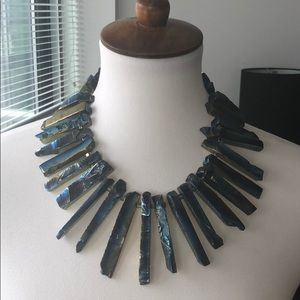 Jewelry - Natural Stone Goddess Necklace